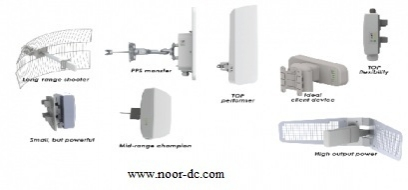 PTP/P2MP wireless system